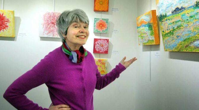 Violet Rosengarten's exhibit at Halifax'sGallery Nineteen Nineteen
